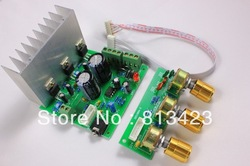 Assembled TDA2030A 2.1 3 channel Subwoofer stereo Amplifier Board with heatsink(China (Mainland))