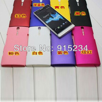 Cell Phone LT26I Rubber Coated Hard Case Cover Protector for Sony Xperia S DHL Free