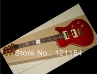 Best New China Chinese SANTANA LTD Private Stock Model electric Guitar purple deep red OEM Available