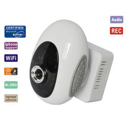 CE FCC ROHS ISO Approval!! WIFI Wireless Webcam IR Night Vison Security IP Camera Dual Audio ip camera(China (Mainland))