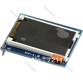 "Free Shipping 1.8"" Serial SPI TFT LCD Module Display + PCB Adapter Power IC SD Socket 128X160"