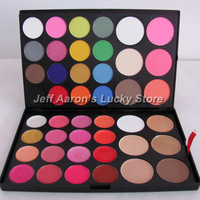 44 Color 16 Eyeshadow 3 Blush 3 Contour 16 Lipgloss 6 Concealer Combo Makeup Eye Shadow Palette Drop Shipping SP44)