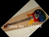 Best New Electric Guitar with Floyd Rose Rod yellowredblue  New free shipping cherry burst OEM Available