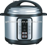 DHL  free shipping  6L electric multic cooker with high quality, single inner pot kitchen appliances