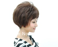 High Quality short curve wigs, middle age wigs,mother wigs,new style