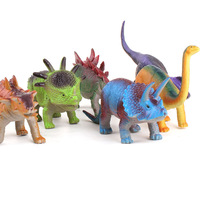 Free Shipping Plastic dinosaur toys set artificial animal model series toy children toy