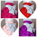 Retail 1Pcs  2013 children dress girls Princess dress chiffon Big bowknot dresse for summer  D104