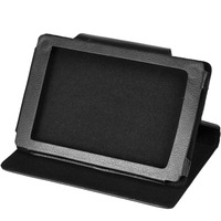 Black Flip Leather Case Cover Stand for Sony PRS-T2 Reader Wi-Fi eBook eReader Free Shipping