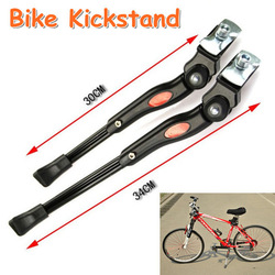 High Quality Alloy Bike kickstand Adjustable Bicycle Kick Stand Holder Free Shipping(Hong Kong)