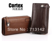 2013 New style, Men bag, Leather Clutch Bag for Men, Brown color, Fashion and  Casual, LY6037n