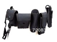 Modular Pouch Holder Security Duty Belt w/ Holster #B