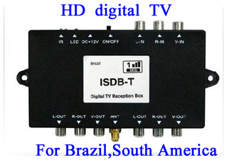 Freeshipping ISDB-T TV receiver digital tv receiver ISDB Set Top Box ISDBT IDB T