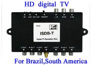 Freeshipping ISDB-T TV receiver digital tv receiver ISDB Set Top Box ISDBT IDB T