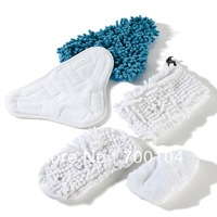 1000pieces/200pack (1pack=5pcs) Mop X5 Cleaning Cloth Set Super Cleaning Kit Steam Mop Pad Replacement Pads For Mop X5
