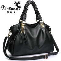 2013 super deal ! hot sale ! free shipping !women&#39;s spring handbag tassel one shoulder cross-body fashion big bags 403
