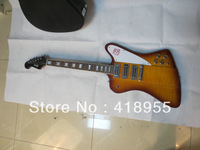 Wholesale high quality 2012 G-CUSTOM Firebird Guitar 3 Pickups Explorer electric guitar free shipping