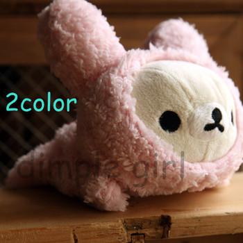 strawberry zipper rabbit animal shape stationery relax bear plush rilakkuma pens bag pencil case long design on aliexpress