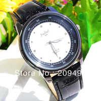 Fashion Man Wristwatch Leather Belt Quartz  Watch High Quality Watch For Man Free Shipping