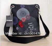 Desigual Women Bag 2012 new bag Black bag 5095