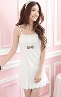 Fashion women's base dress tank tops dress lace petticoat dress free size