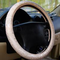 Vincas beige series car steering wheel cover z5279 car supplies