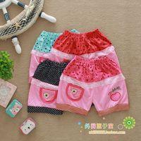 Fashion trousers lace female child shorts 2014 summer girl's shorts