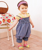 2013 Hot,baby girls rompers jeans blue polka dots baby Siamese trousers girls cotton  baby dress.Denim harnesses,