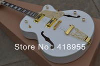 2013 New Arrival Gretsch Falcon 6120 JAZZ with Bigsby Tremolo Electric Guitar Gold Hardware In Stock Free Shipping