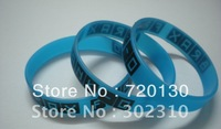 Custom design silicon wristband, promotion bracelet, promotion gift, glow in the dark silicon bracelet, silicon bracelet
