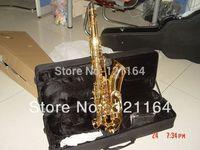 best Newest beautiful  -62  tenor sax  Professional Tenor Saxophone Sax w case free shipping in stock Saxophone