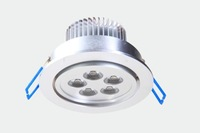 Wholesale AC100-240V 5W  High Power Warm White Natural White LED Ceiling Light 4 Pieces/lot Freeshipping
