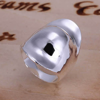 Lose Money Promotions! Wholesale 925 Silver Plated Plated ring, 925 Silver Plated Plated fashion jewelry, Thumb Hat Ring R050