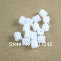 Wholesale price,Motor gear, 8T,plastic, Motor reduction, Motor , Module 0.5,free shipping