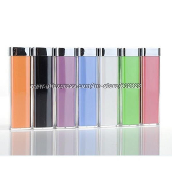 Smart lipstick 2200mAh Universal External Power Bank Portable Mobile Power For Moblie phone, Mp3 etc. USB electronics(China (Mainland))