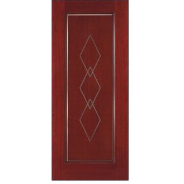 Wood Panel Door Design