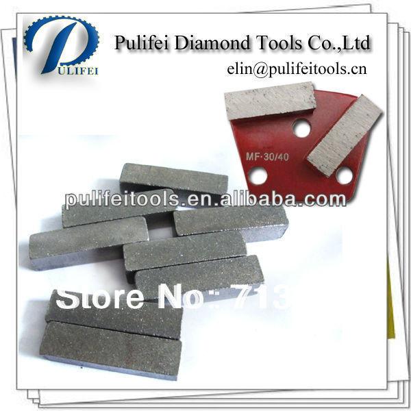 40*12*12mm Diamond Concrete Grinding Segment for Concrete Floor Wet Polishing(China (Mainland))