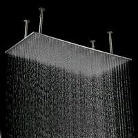 High Quality Rainl Shower,Luxury Rectangular Faucet Shower,Saving Water Shower Head