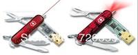 Free Shipping!Fashion Swiss Army Knife USB 2.0 Memory Stick Flash Drive 8GB16GB 32GB