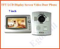 Wholesale 7 inch TFT LCD Display Screen Video Door Phone freeshipping