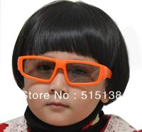 Children's Passive 3D Glasses for Kids with Scratch Resistant Lenses Wholesale Free DHL Shipping 100pcs/lot