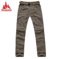 Onepolar polar spring and summer outdoor breathable quick-drying pants Women quick dry pants disassembly