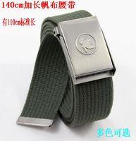 ON SALE 20% Canvas webbing belt male lengthen fashionable casual waist of trousers webbing belt strap 20USD FREE SHIPPING