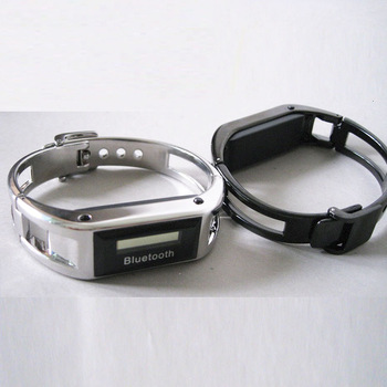 Free shipping New arrival steel sunpure bluetooth watches bracelet vibrate anti-theft time