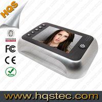 "3.5"" LCD Color Screen Door Peephole Camera with 3X Digital Zoom"