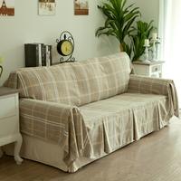 Flax cushion sofa cover sofa sets customize wicker 190cm*200cm