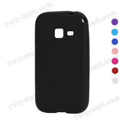Flexible Silicone Case Cover for Samsung Galaxy Ace Duos S6802 Eight Colors To Choose Free Shipping(China (Mainland))