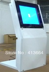 22 inch free standing kiosk / interactive kiosk / digital signage player / touch kiosk / All-in-one display based on PC(China (Mainland))