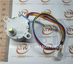 DC Gear Stepper Step Motor with ULN2003 Driver Board 5V 4 Phase 28YBJ-48(China (Mainland))