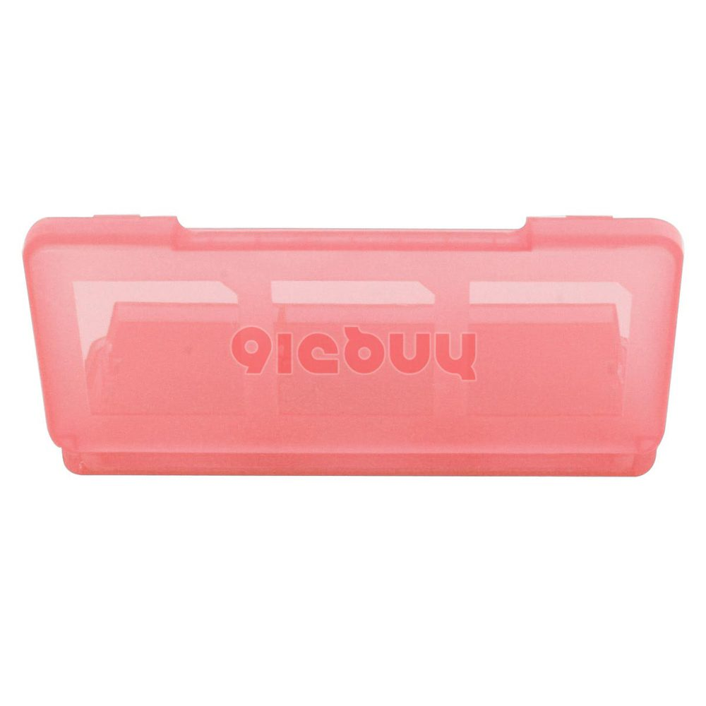 6 in 1 Game Card Holder Case for Nintendo DSi, DS Lite, 3DS, Pink(China (Mainland))
