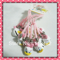 Free Shipping Duck Cell Phone Strap Mobile Phone Strap 100pcs/lot